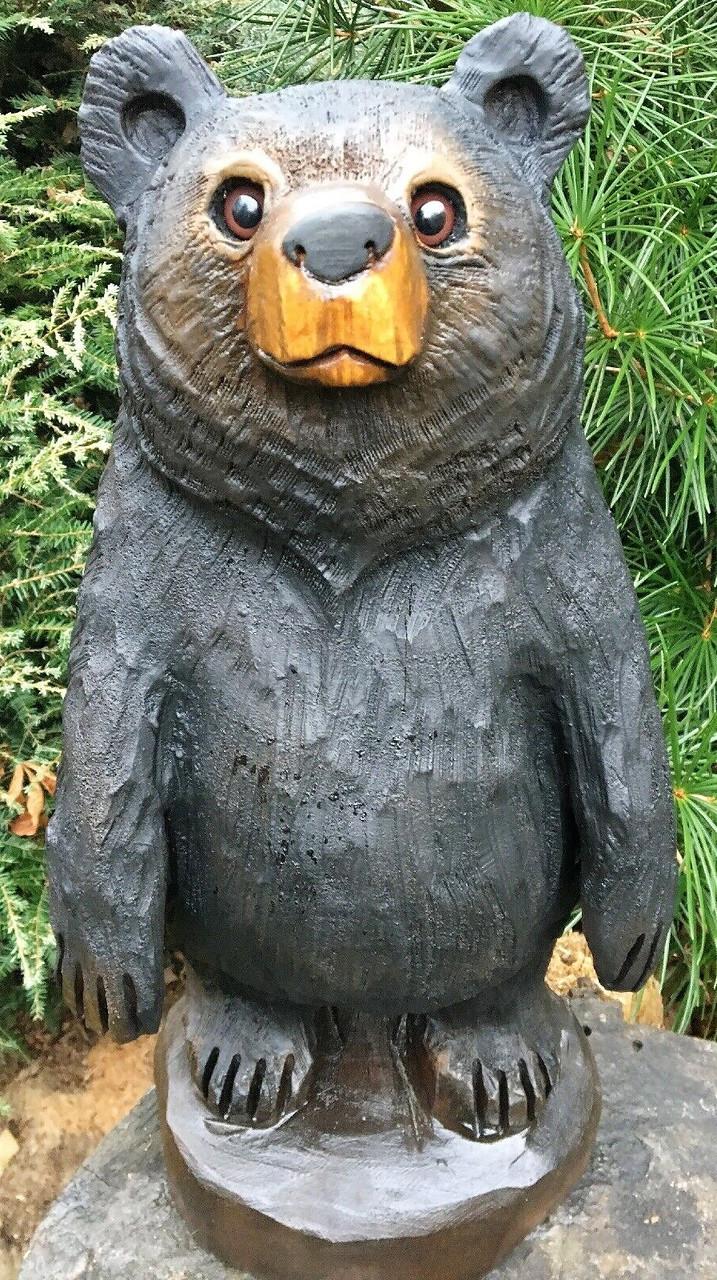 Скульптури з дерева тварин, ручна різьба по дереву (Hand Carved Artwork 11)