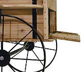 Передвижные декоративные тележки для сада, дачи, загородного участка (Decorative Garden Cart 01), фото 4