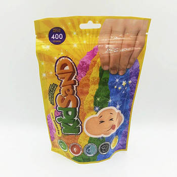 Кинетический песок Kidsand 400 грм Danko Toys (KS-03-03) оранжевый
