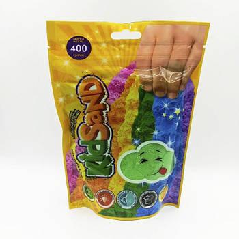 Кинетический песок Kidsand 400 грм Danko Toys (KS-03-03) зеленый