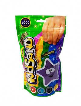 Кинетический песок Kidsand 1 кг Danko Toys (KS-03-01) фиолетовый