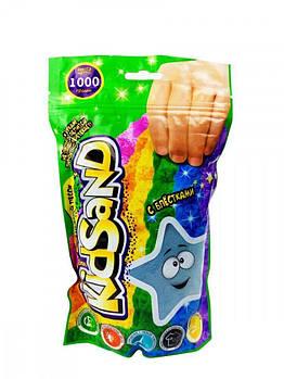 Кинетический песок Kidsand 1 кг Danko Toys (KS-03-01) голубой