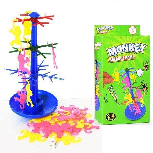 Настільна гра маленька балансир мавпочки Mankey balance game