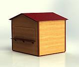Дерев'яні кіоски з профільованого бруса, фото 8