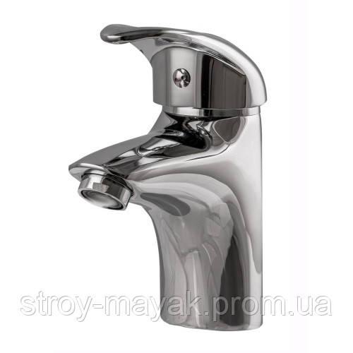 Короткий смеситель для ванной для маленькой раковины, литой излив Globus Lux Smart GLSM-0101