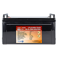 Аккумулятор для лодочного электромотора литиевый  LiFePO4 12V - 100 Ah. Наша Доставка