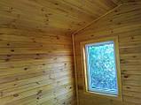 Дерев'яний будиночок охорони 3,0х2,4 м, фото 4