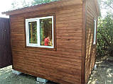 Дерев'яний будиночок охорони 3,0х2,4 м, фото 5