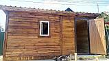 Бытовка деревянная 5х2.5 м утеплённая, фото 3