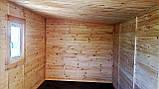 Бытовка деревянная 5х2.5 м утеплённая, фото 6