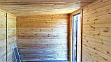 Бытовка деревянная 5х2.5 м утеплённая, фото 7
