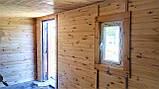 Бытовка деревянная 5х2.5 м утеплённая, фото 8