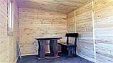Бытовка деревянная 5х2.5 м утеплённая, фото 9