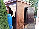 Хозблок деревянный 3000х2000 от производителя, фото 4