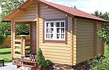 Баня деревянная из профилированного бруса 4.0х4.0, фото 2