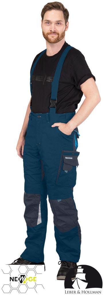 Штани захисні на шлейках LH-NAW-B GN