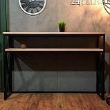 Консоль для дома в стиле LOFT (Console - 099), фото 2