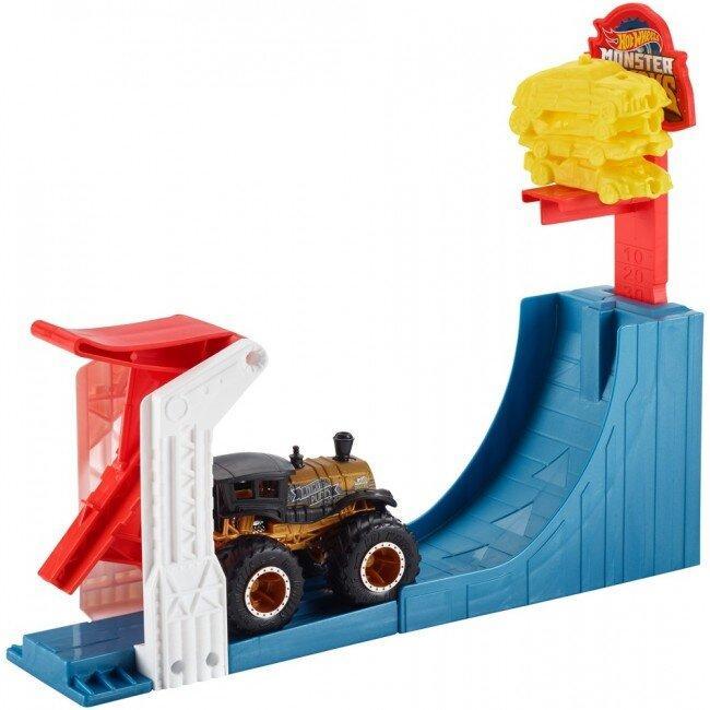 Набор Соревнования по прыжкам в высоту серии Monster Trucks Hot Wheels