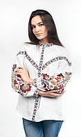 Вышиванка женская льняная Эдельвика арт. 244-20/09 Цветная р.50- 56