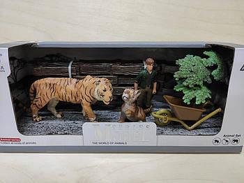 Набор животные африки Series Model маленькая Q 9899-C2 тигры