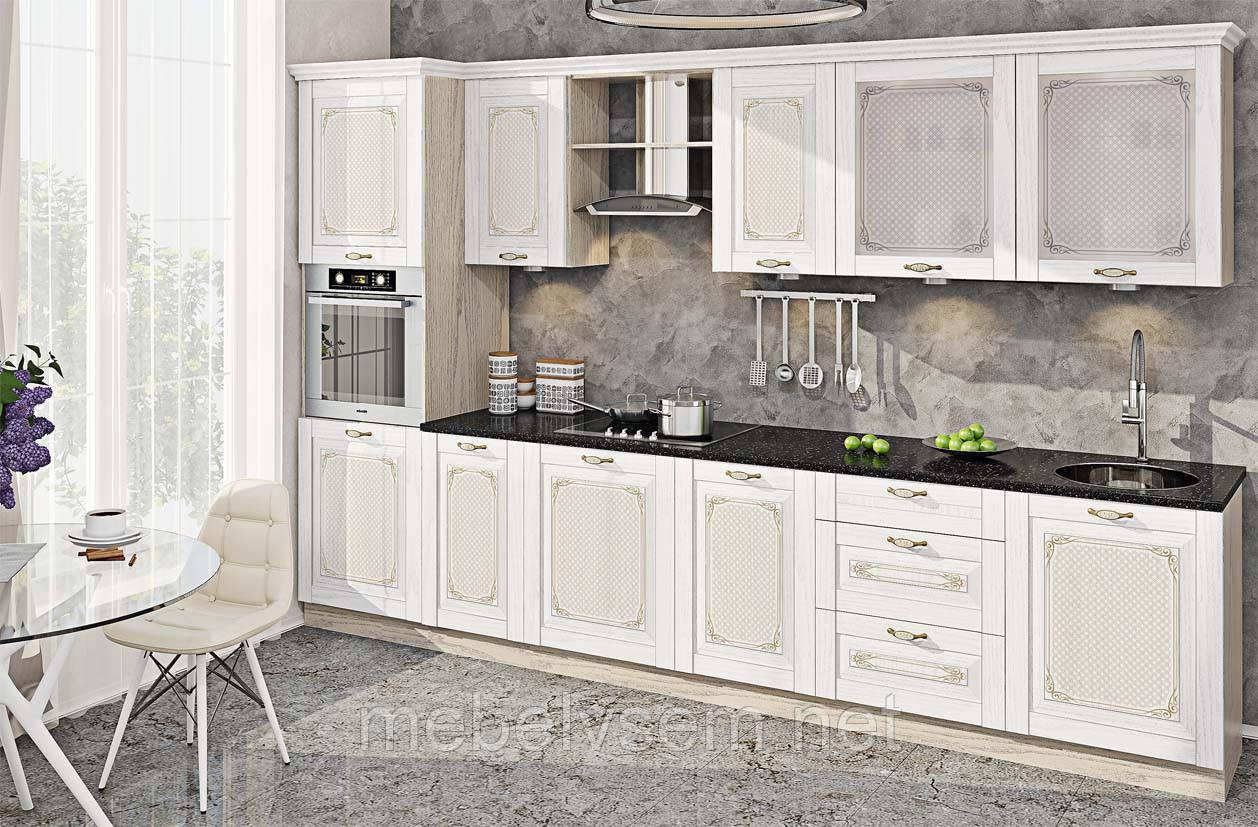 Кухня Французский Престиж с печатью КХ 6764 от Комфорт Мебель
