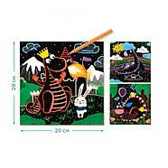 Набір гравюр Дракони Dodo (створи свій шедевр) 300215, фото 3