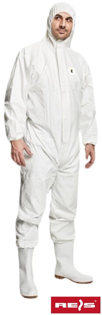 Захисний костюм з капюшоном KOM-CHEM500