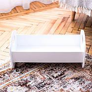 """Деревянная кроватка-люлька """"Манюня"""" NestWood для Беби Борна и пупсов белая, фото 6"""