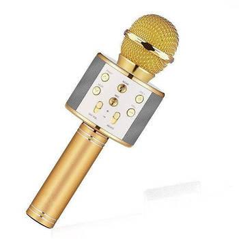Микрофон с динамиком X15317 WS-858L gold