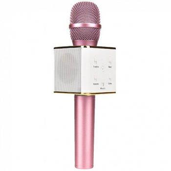 Микрофон Q7 rose gold