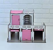 Двухэтажный гараж-парковка NestWood розовый, фото 2