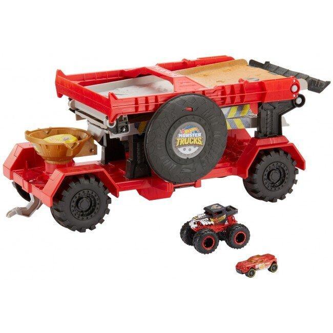 Вантажівка-трансформер Швидкісний спуск серії Monster Trucks Hot Wheels