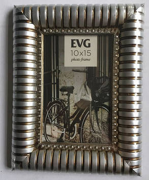 "Фоторамка сувенір. ""EVG FRESH"" 10х15 №2109-4 silver"