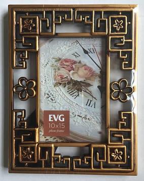 "Фоторамка сувенір. ""EVG FRESH"" 10х15 №8416-4 gold"