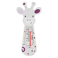 "Термометр плавающий ""Олененок"" белый с розовым BabyOno (5901435408711)"