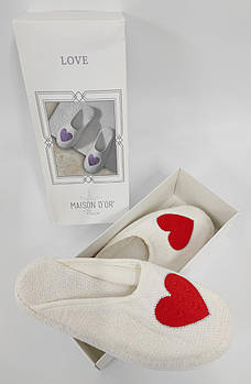 Тапочки Maison D'or Love Slipper Red