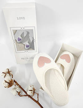 Тапочки Maison D'or Love Slipper Rosa