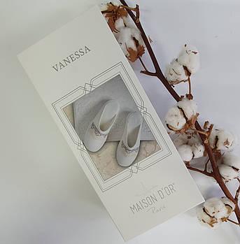 Тапочки Maison D'or Vanessa Ecru Salmon