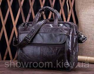 Мужская кожаная сумка для ноутбука Leather Collection (9945)