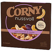 Батончики Corny Nussvoll Trauben 4s 96 g