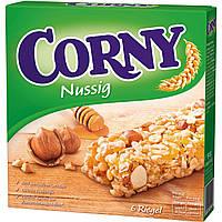 Батончики Corny Nussig 6s 150 g