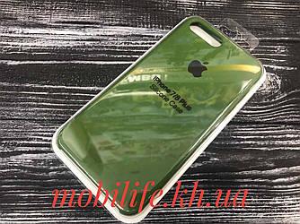 Silicon Case Original Apple iPhone 7Plus,8Plus/Green/Высокое Качество/