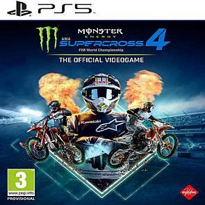 Monster Energy Supercross 4 (англійська версія) PS5