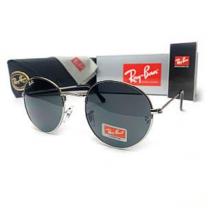 Солнцезащитные Очки R-B Round Metal 3448 C10 (High)