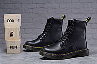 Зимние женские ботинки 31830, Dr.Martens, черные, [ 36 37 40 ] р. 36-23,0см.