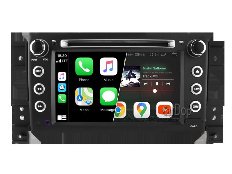 Штатна магнітола Suzuki Grand Vitara (JT) 2005-2014 CarPlay DVD