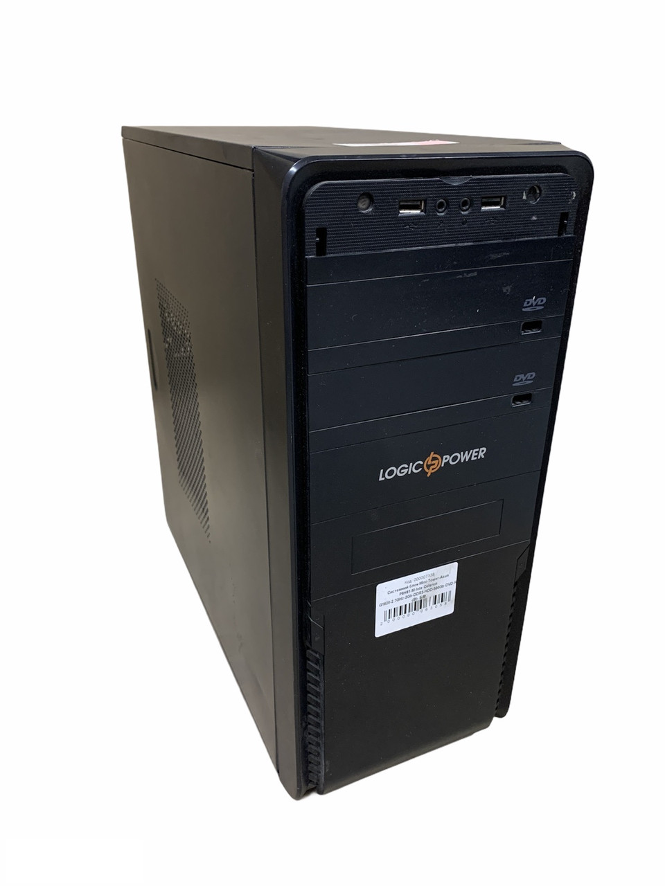 Системный блок-Mini-Tower-Asus P8H61-M-Inte Celeron G1620-2.7GHz-2Gb-DDR3-HDD-500Gb-(B)- Б/У