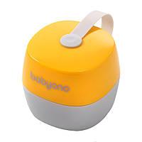 Футляр для пустышки желтый BabyOno Natural Nursing (5901435410318)