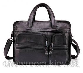 Мужская кожаная сумка для ноутбука Leather Collection (9946)