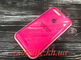 Silicon Case Original Apple iPhone 7Plus,8Plus/Ярко-Розовый/Высокое Качество/